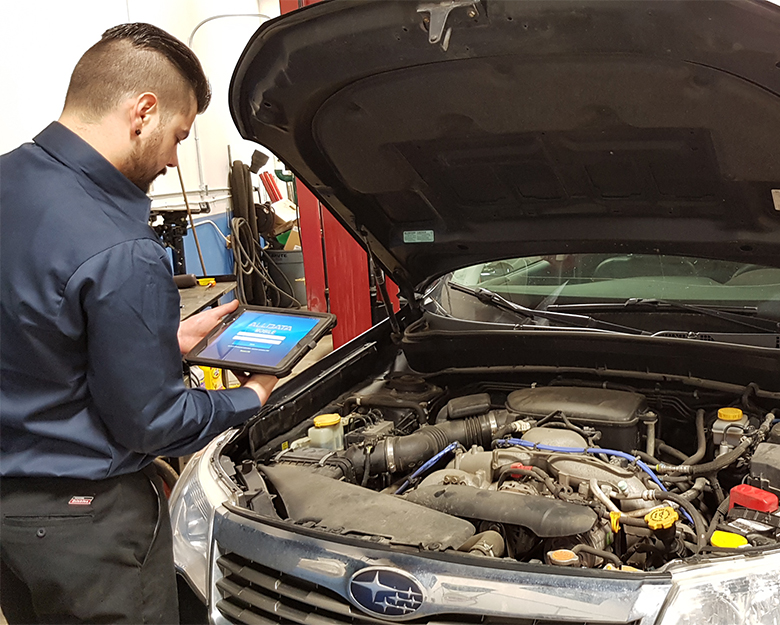 subaru forester complex diagnostics